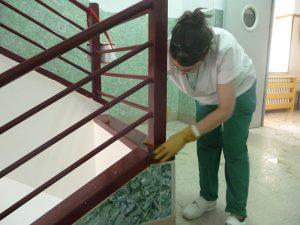 limpieza de colegios y comunidades